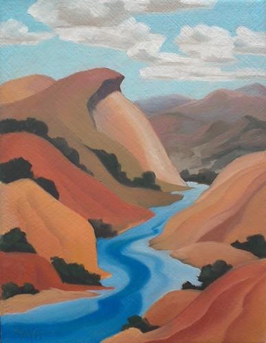 Rio Grande at Pilar by Raya