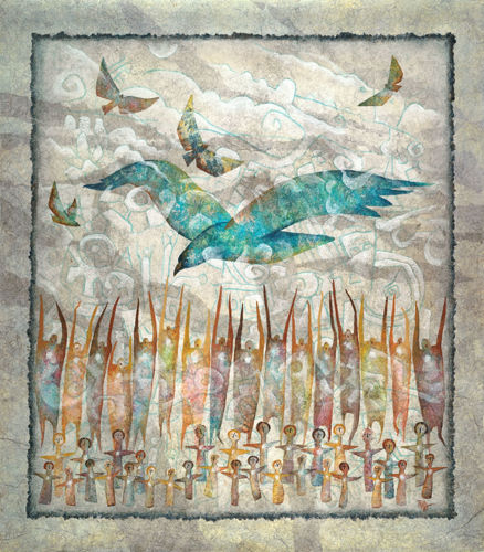 Ancient Winds - the storm is coming by Raya