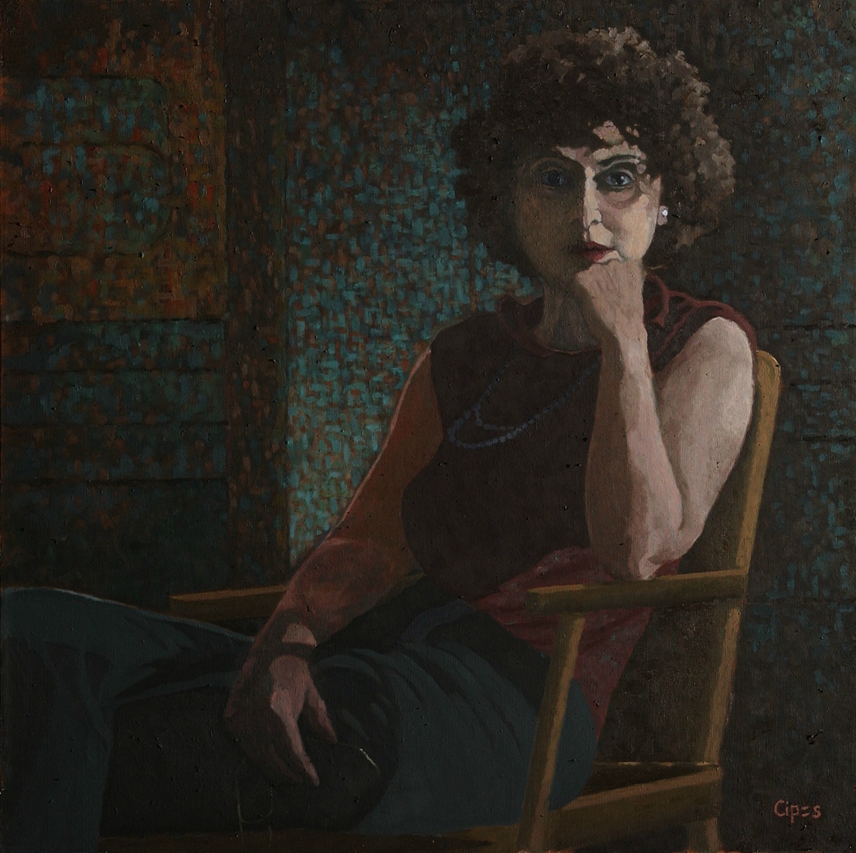 Portrait of the Artist's Mother (large view)