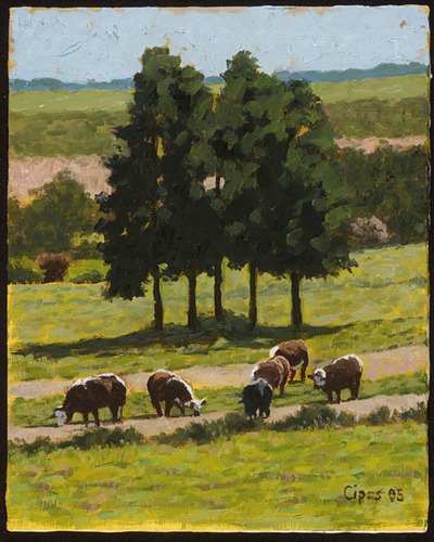 Cows and Trees (large view)