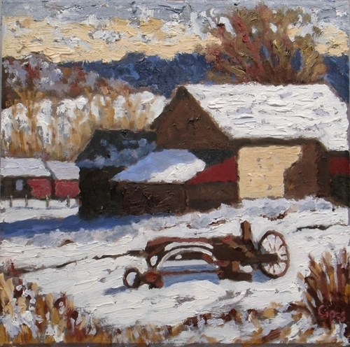 Winter Farm (large view)