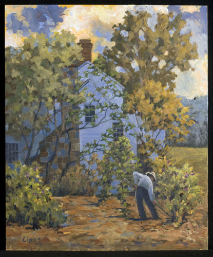 Gardening Whiskey Lane (large view)