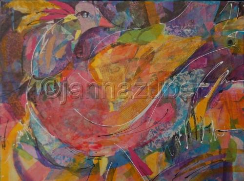 Mardi Gras Bird