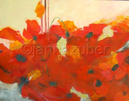 Poppies! by janna zuber
