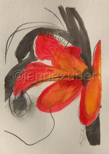 Red Flower in February #1