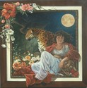 Oil Painting, Allegorical, flowers, animals, janet weaver - Allegorical Painting