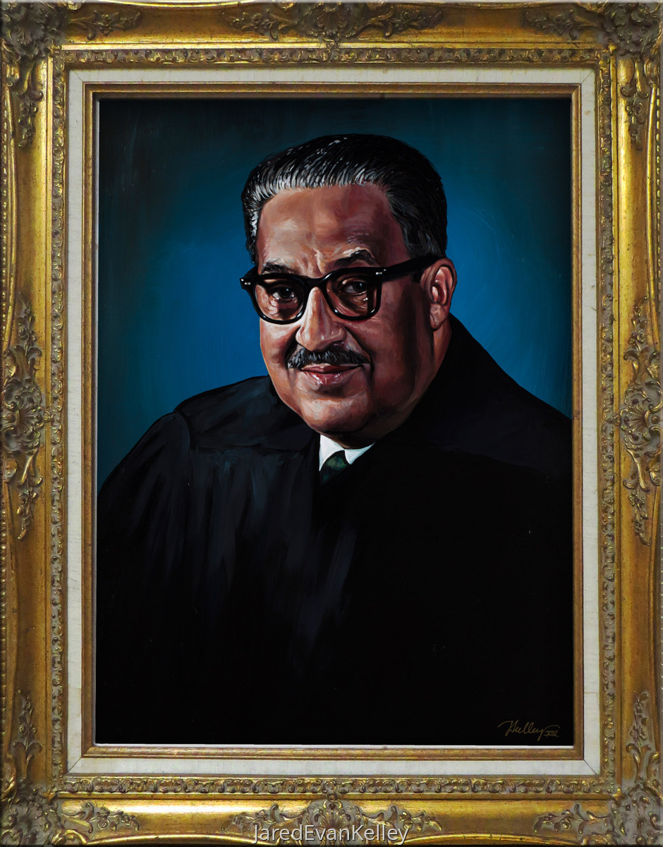 Judge Thurgood Marshall (large view)