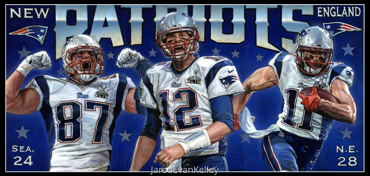 2015 New England Patriots (large view)
