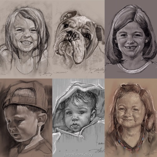 Digital Portrait Commissions