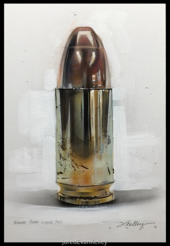 9mm Bullet by Jared Kelley