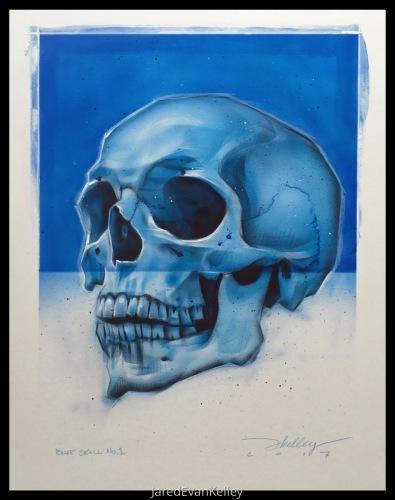 Skull (Blue)