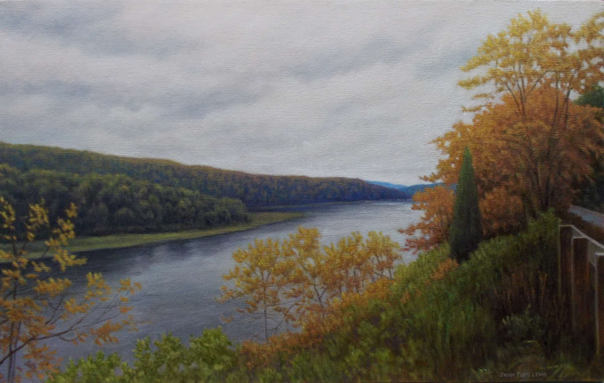 Allegheny River and Bike Trail (large view)