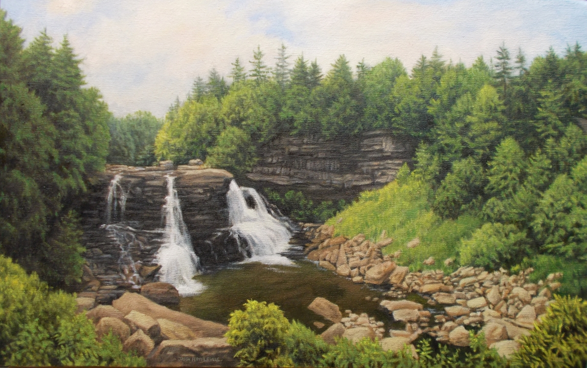 Blackwater Falls (large view)