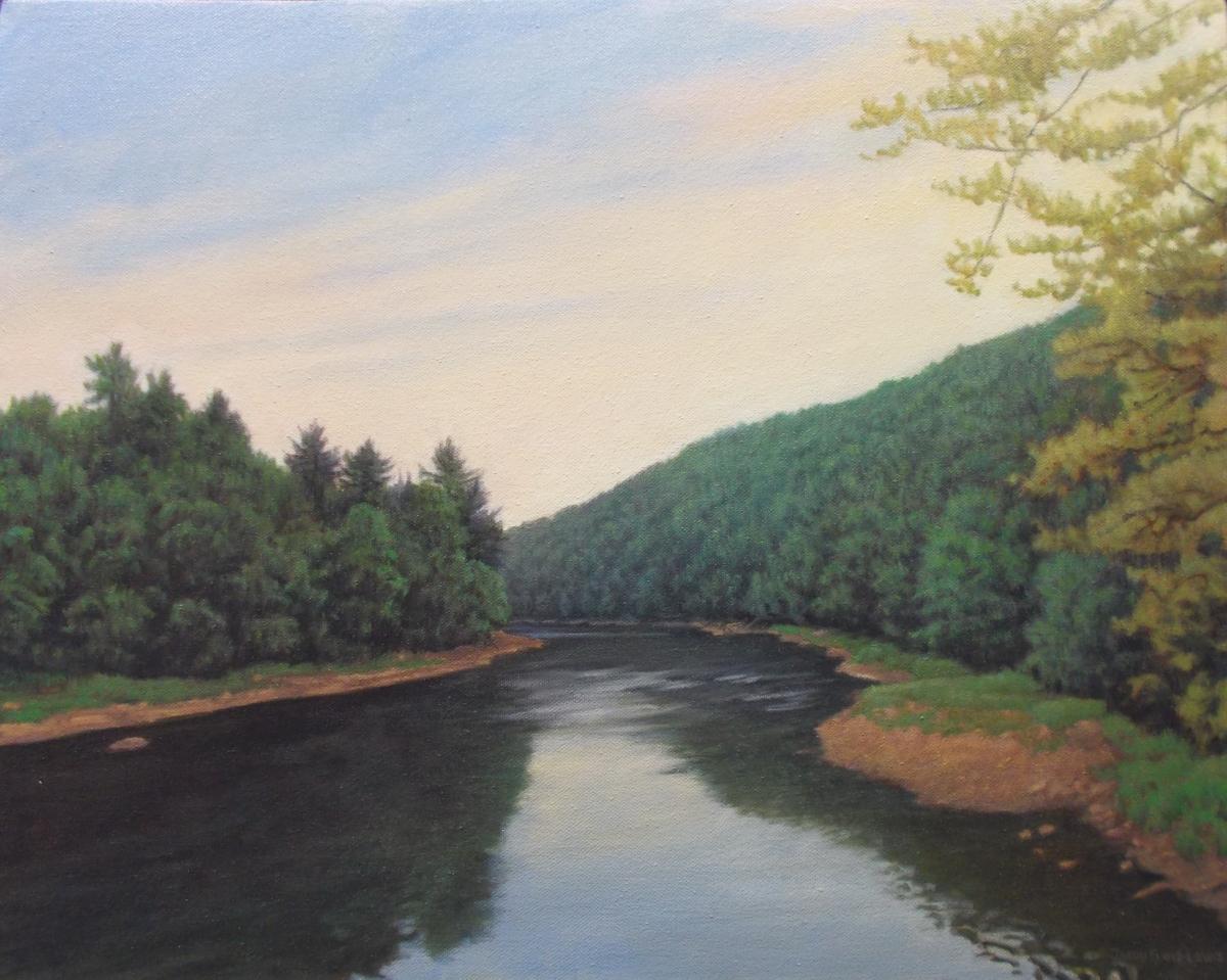 Clarion River at Gravel Lick Bridge (large view)