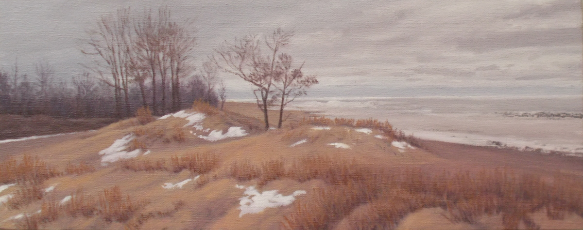 Winter Beach (large view)