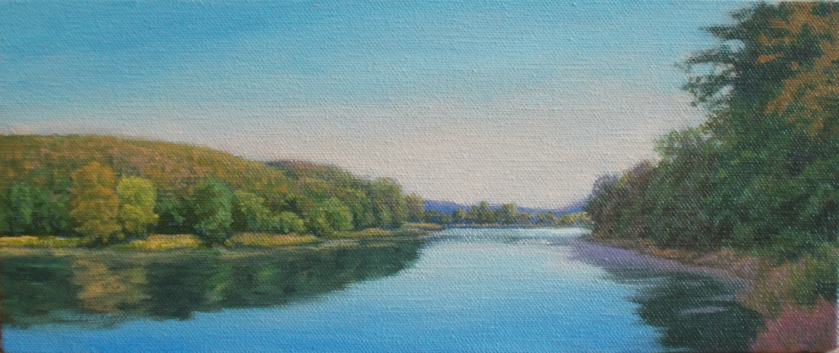 Allegheny River Morning (large view)