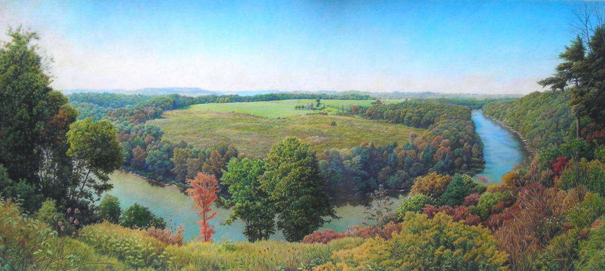Benn's View of the Clarion River (large view)