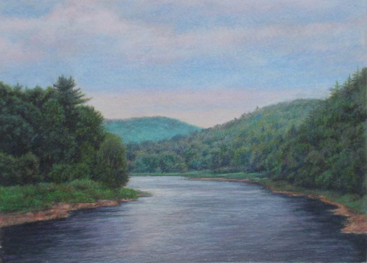 Clarion River Afternoon (large view)