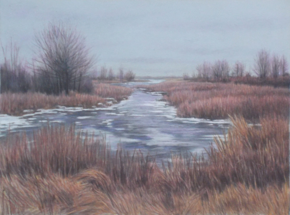 Winter Wetland (large view)