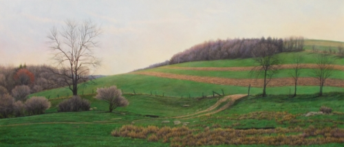 Hillside, Early Spring by Jason Lewis