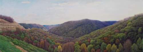 West Virginia Mountain Pass (large view)