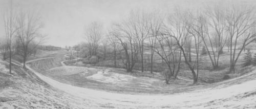Frontier Park, winter