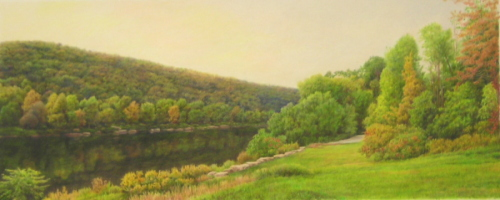 Allegheny River at Foxburg