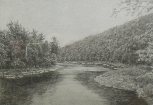 Clarion River at Gravel Lick