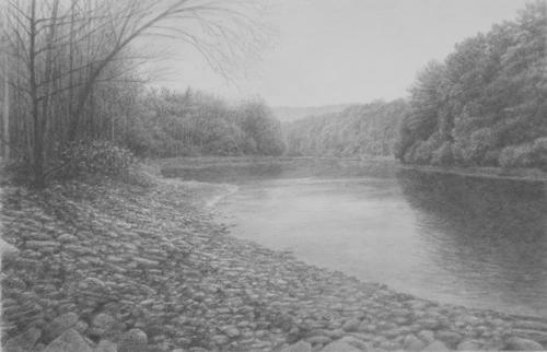 Genessee River Below the Falls