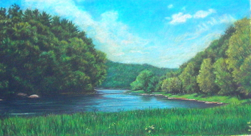 Clarion River Bend (large view)