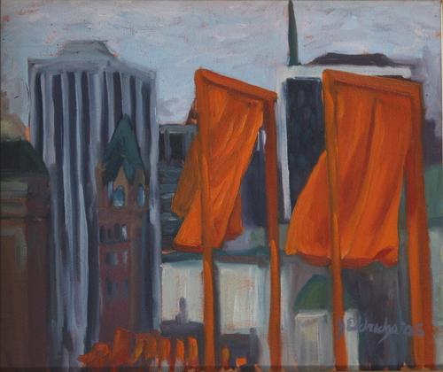 The Gates Skyline by Jason Eldredge