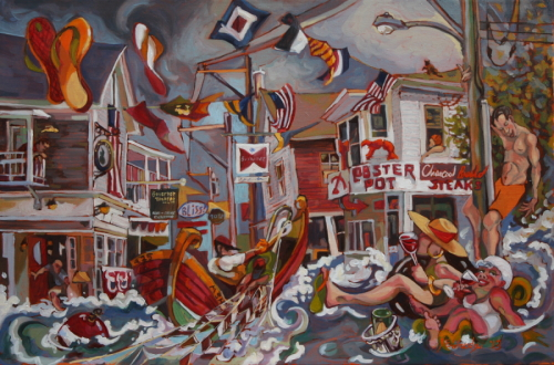 Commercial Street by Jason Eldredge