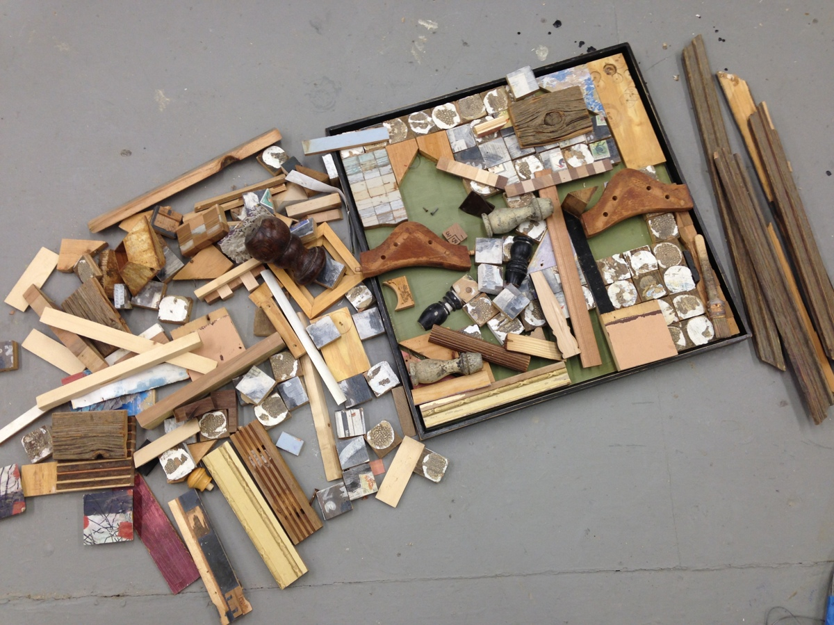 Assemblage in Process (large view)