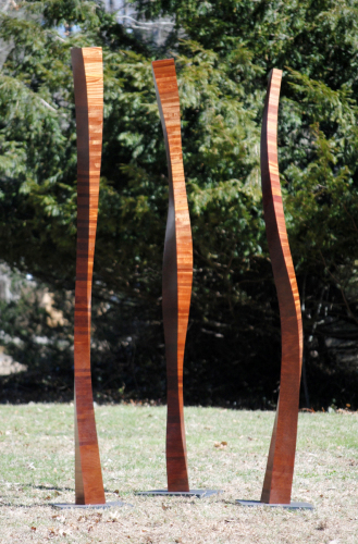 Totem Series, No. 8,9,10 by Jim Perry Studio