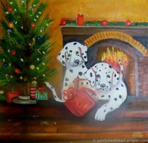 Christmas Dalmations