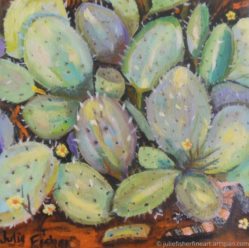 Hiding Among the Prickly Pears