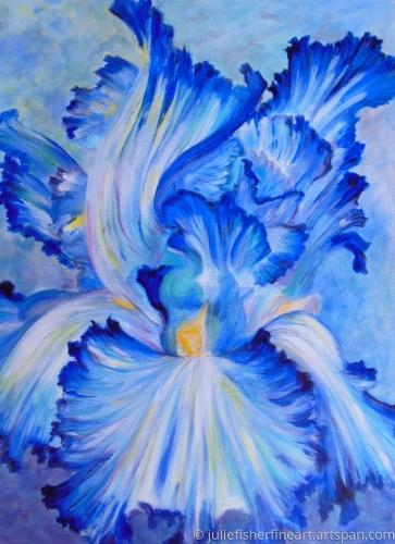 Cloud Ballet (Blue Iris)