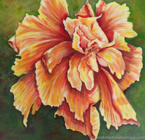 Heavenly Hibiscus