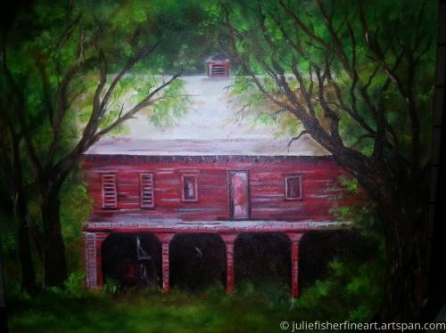 Deserted Old Barn