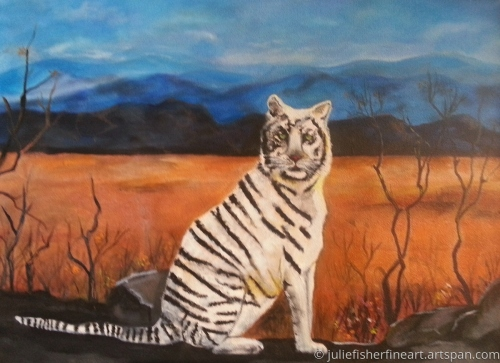 Out of Africa White Tiger