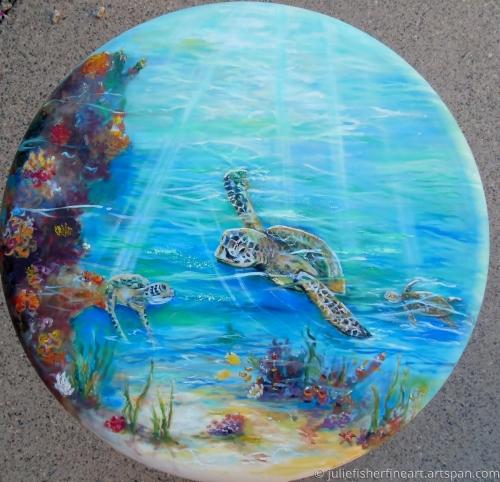 A Turtle's World Down Under