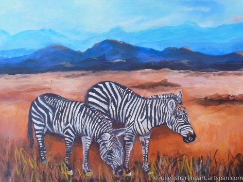 Out of Africa - Zebras