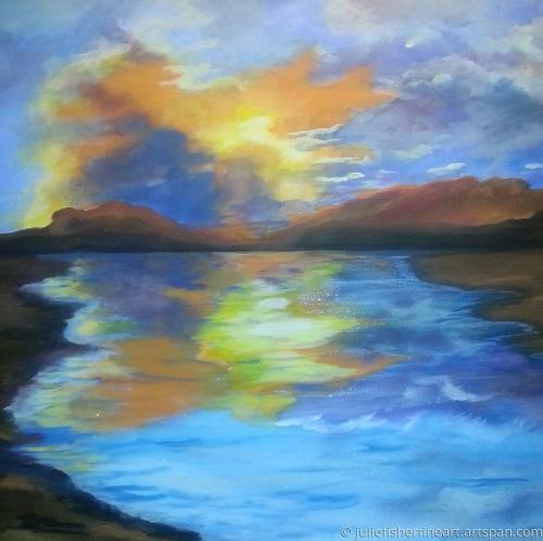 Morman Lake Sunset