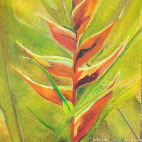 The Warmth of Peace (Heliconia)
