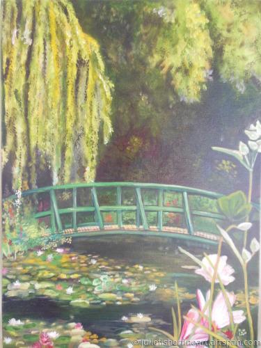 Lillies Under the Bridge