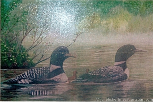 Loons (NOT ORIGINAL - NOT FOR SALE)