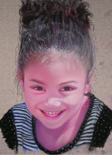 Painting--Pastels-PortraitKennedy