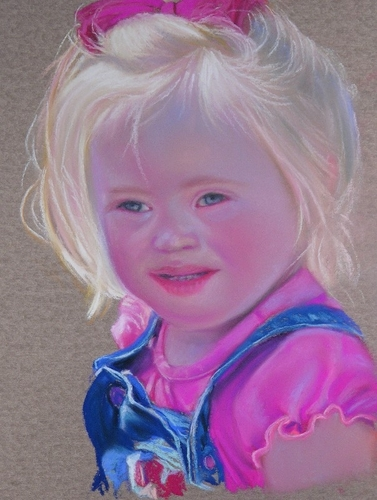 Painting--Pastels-PortraitCarly