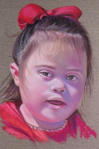 Painting--Pastels-PortraitBentley
