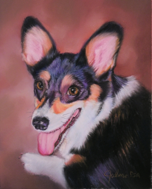 Painting--Pastels-AnimalsAugie